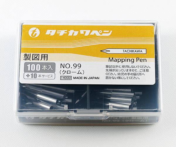 ペン先 タチカワ 99丸ペン 100本入り<入り数110本>