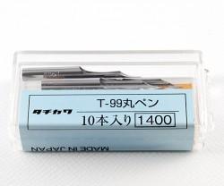 ペン先 タチカワ 99丸ペン 10本入り